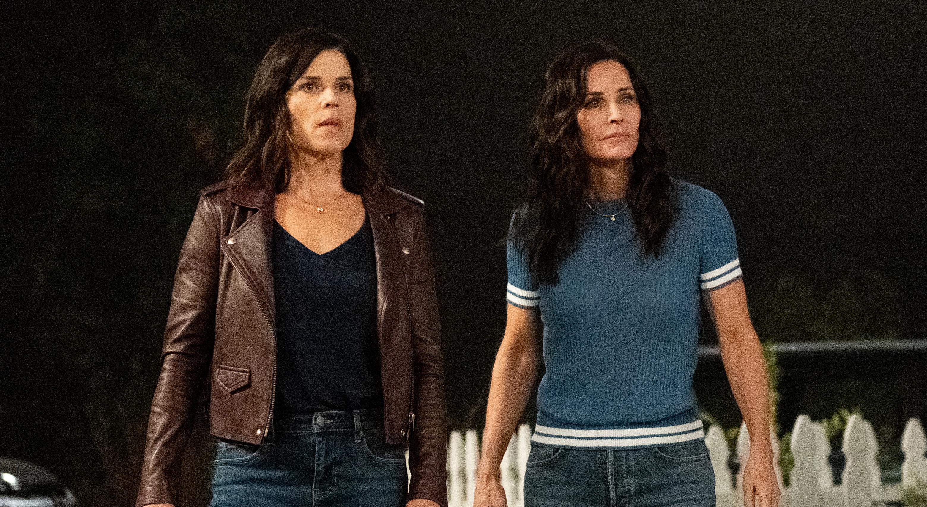 Neve Campbell e Courtney Cox retornam ao filme