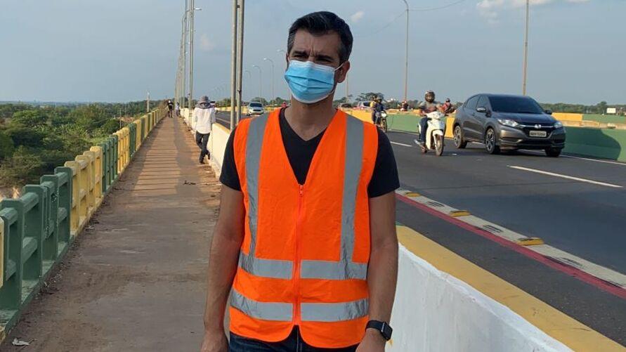 Engenheiro Elói Figueiredo é um dos responsáveis pelo monitoramento da ponte