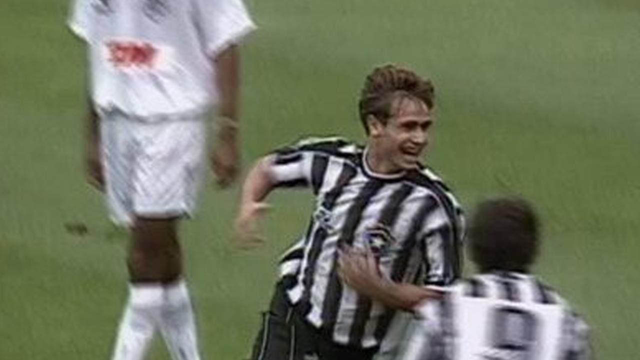 O jogador era tratado como promessa do clube em seu início de carreira