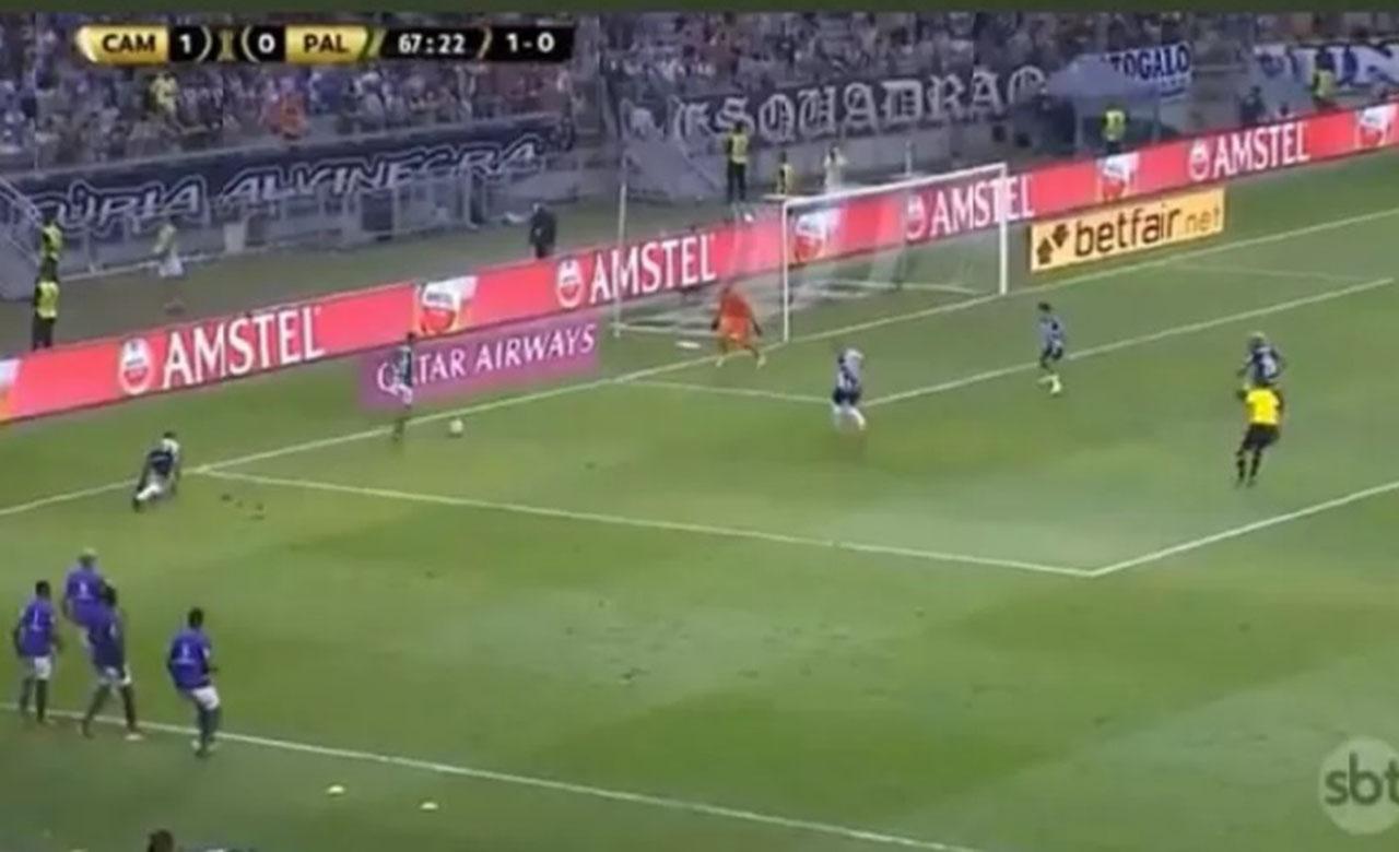 Gol do Palmeiras foi irregular? Suposta invasão de Deyverson.