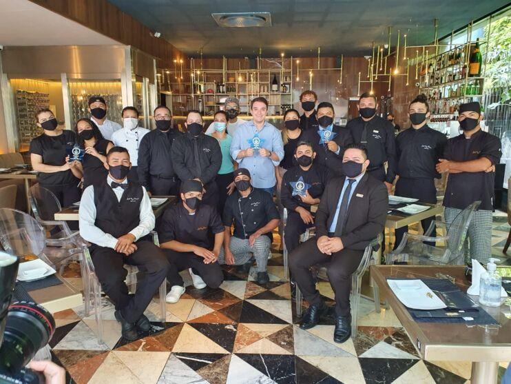 Equipe do Restaurante Sushi Ruy Barbosa.
