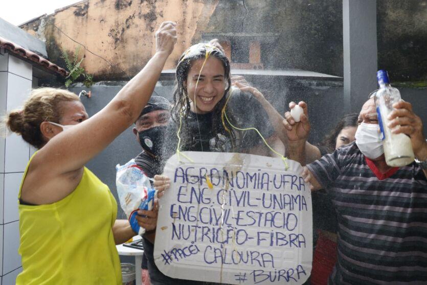 Festa dos calouros! Veja fotos dos aprovados na UFRA e IFPA