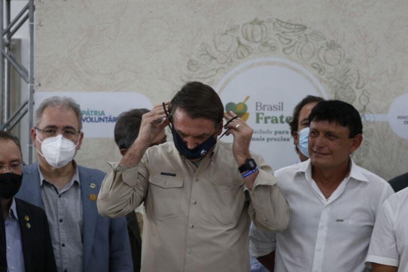 Fotos: Bolsonaro encontra 'sósia' e cumpre agenda em Belém