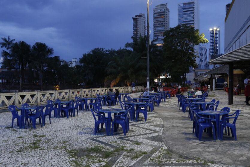 Veja imagens de Belém desta sexta (30) véspera de feriado