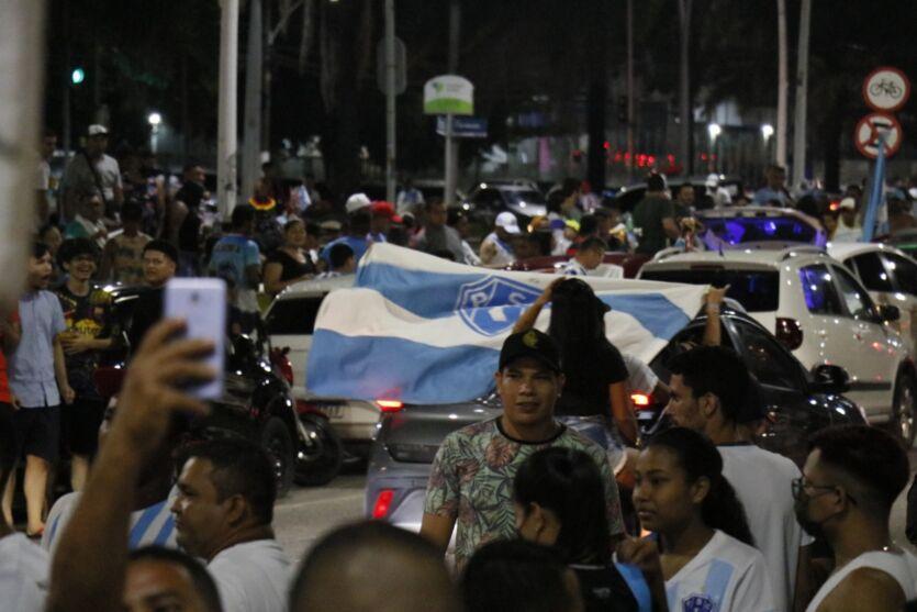 Teve Doca! Torcida do Paysandu comemora o Paraense 2021