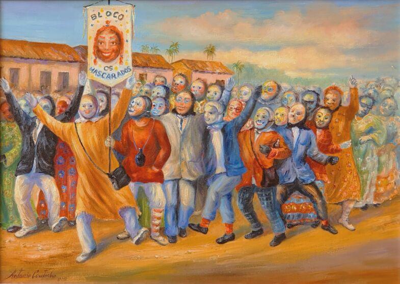Pintor Vigiense expõe na internet