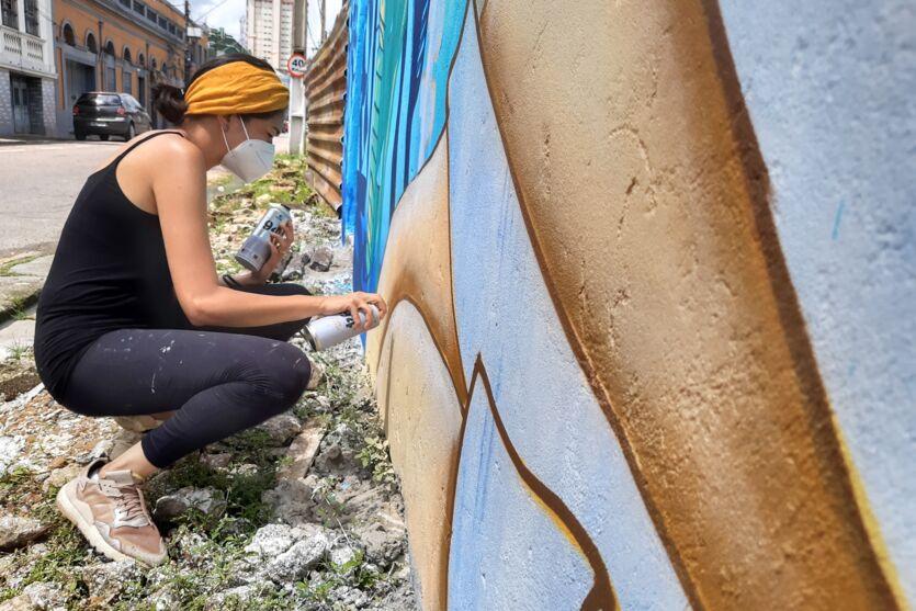 Imagem ilustrativa da notícia: Drika Chagas leva arte para o bairro do Reduto