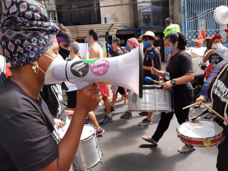 Imagens da manifestação contra Bolsonaro
