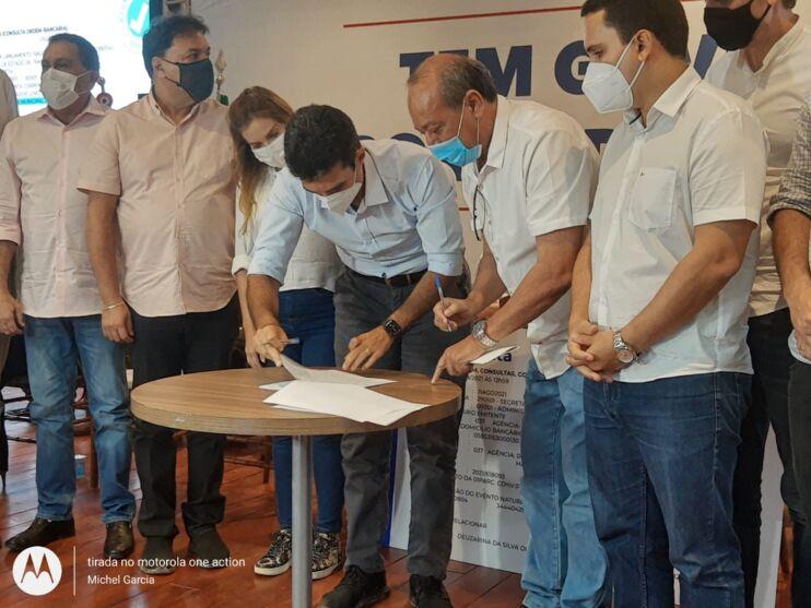 Governo assina termo para construção de nova ponte em Marabá