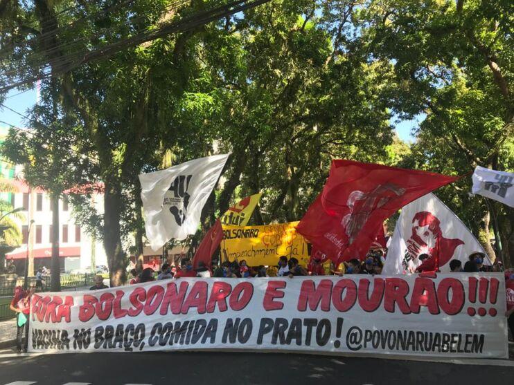 Os atos contra Bolsonaro acontecem no Brasil e exterior.