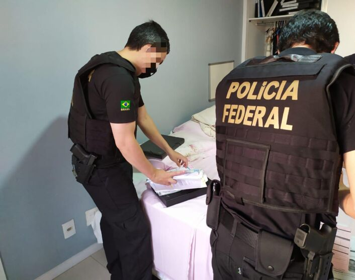 A operação está acontecendo nas cidades de Belém, Marabá, Parauapebas e Goianésia em Goiás.