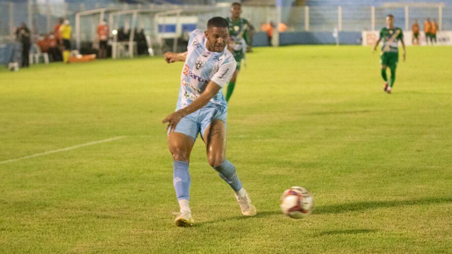 Danrlei fez seu primeiro gol com a camisa do Papão.