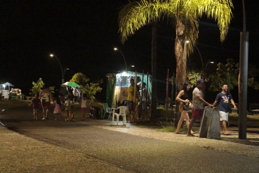 A movimentação da última sexta (30) de julho em Belém