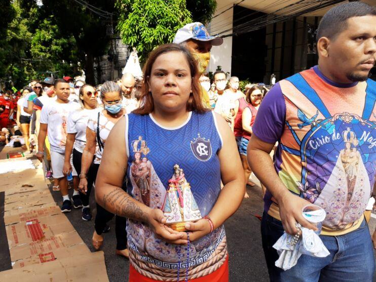 Galeria do Círio 2021: promesseiros tomam as ruas de Belém
