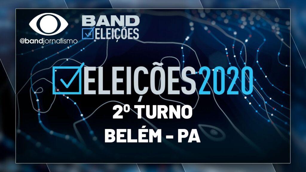 Imagem ilustrativa da notícia: Veja aqui a transmissão ao vivo da apuração das eleições em Belém realizada pela Band