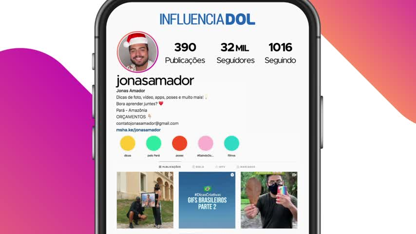 Imagem ilustrativa da notícia: InfluenciaDOL #2: Jonas Amador