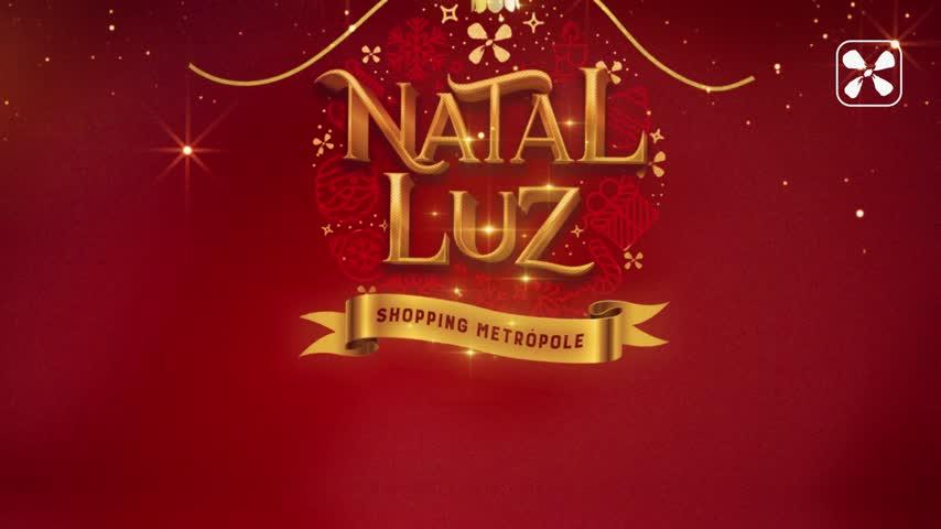 Imagem ilustrativa da notícia: Natal Luz do Shopping Metrópole