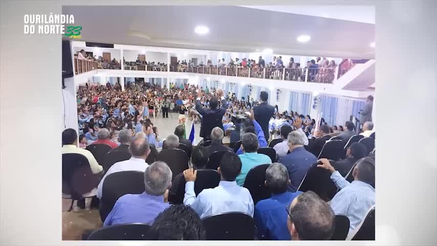 """Imagem ilustrativa da notícia: """"Ourilândia 33 anos"""": Conheça o templo da Assembleia de Deus"""