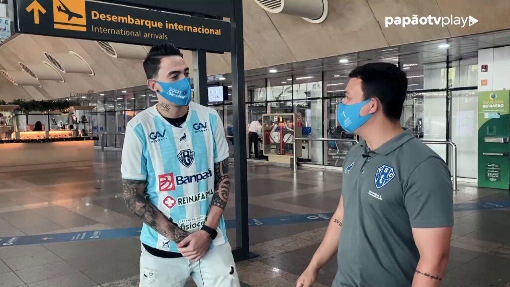 Atacante Rildo já está integrado ao elenco do Paysandu.